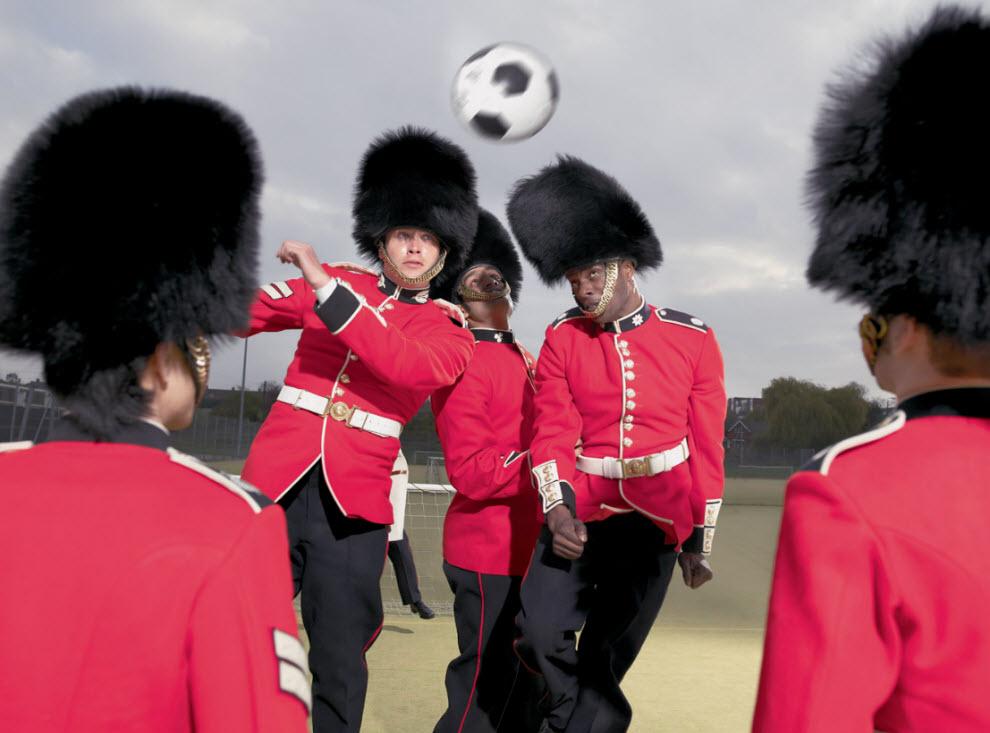 2461 Лондонские гвардейцы готовятся к Олимпиаде