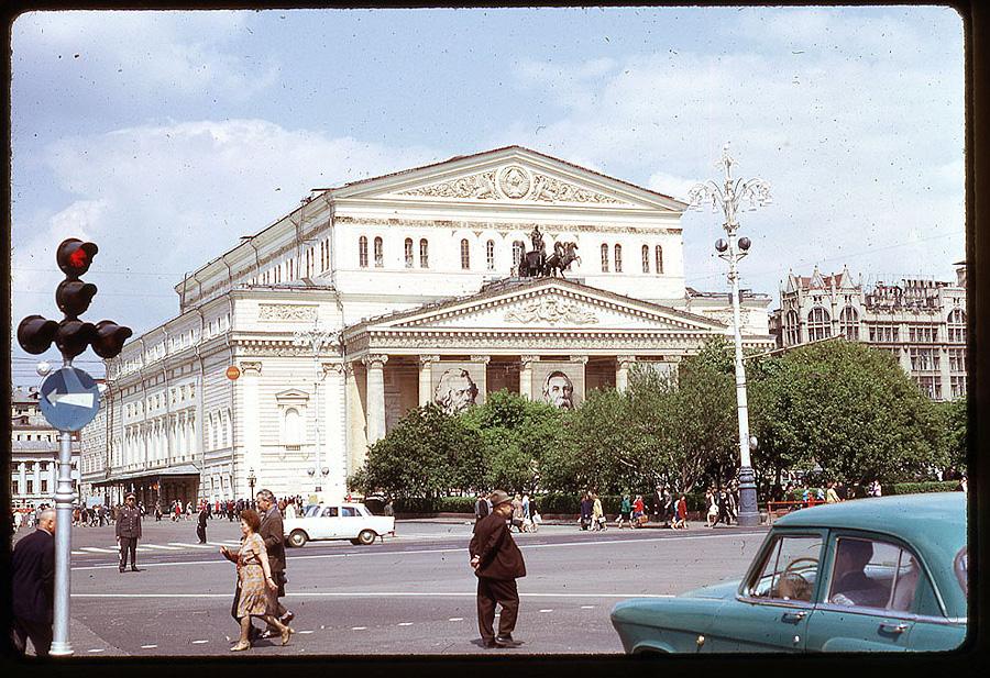 2523 Москва 1969 года в объективе американского фотографа