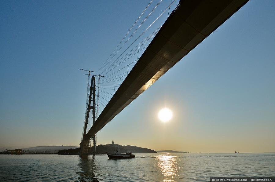 2543 Мост на остров Русский во Владивостоке (Апрель 2012)