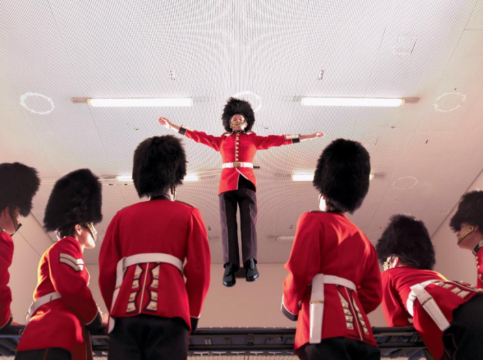 2555 Лондонские гвардейцы готовятся к Олимпиаде
