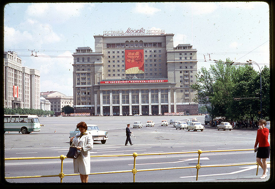 2619 Москва 1969 года в объективе американского фотографа