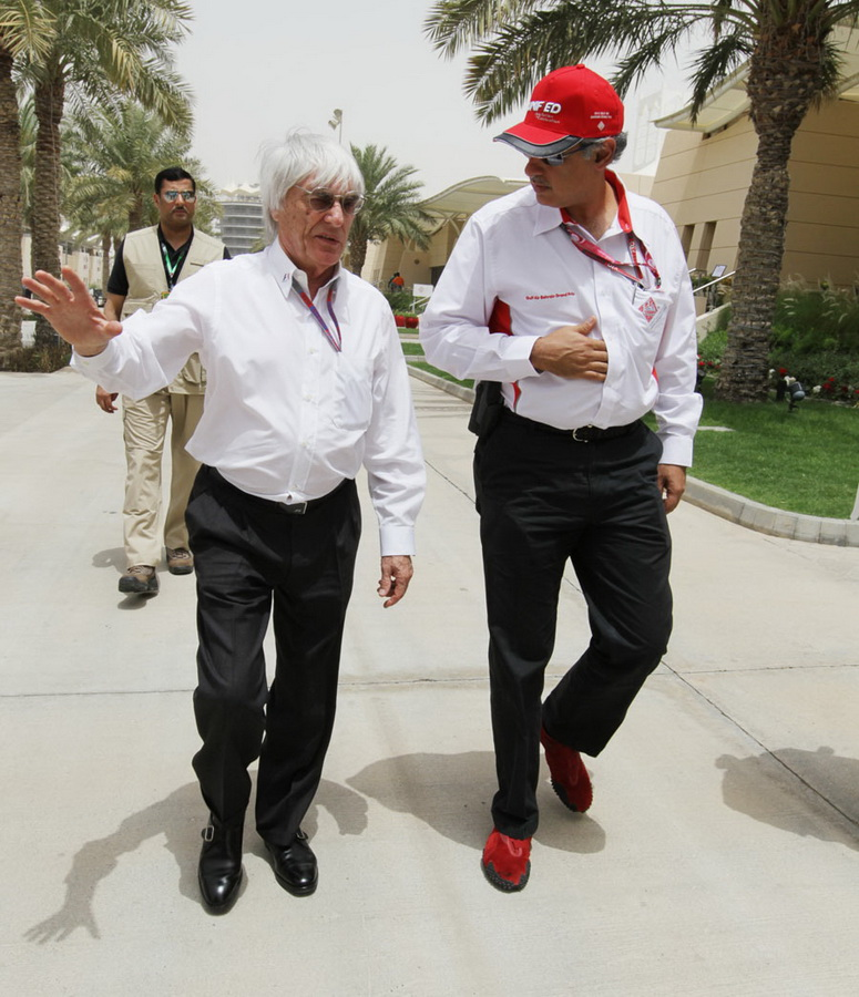 2640 За кадром Гран При Бахрейна 2012