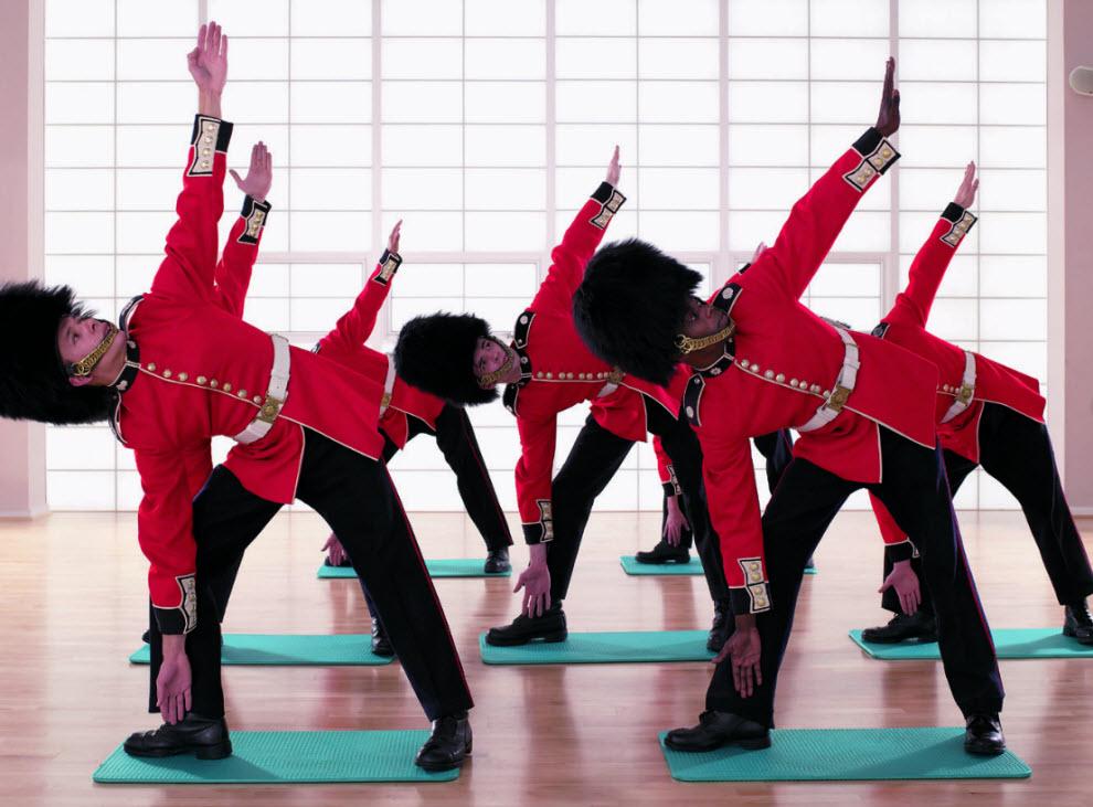 2648 Лондонские гвардейцы готовятся к Олимпиаде