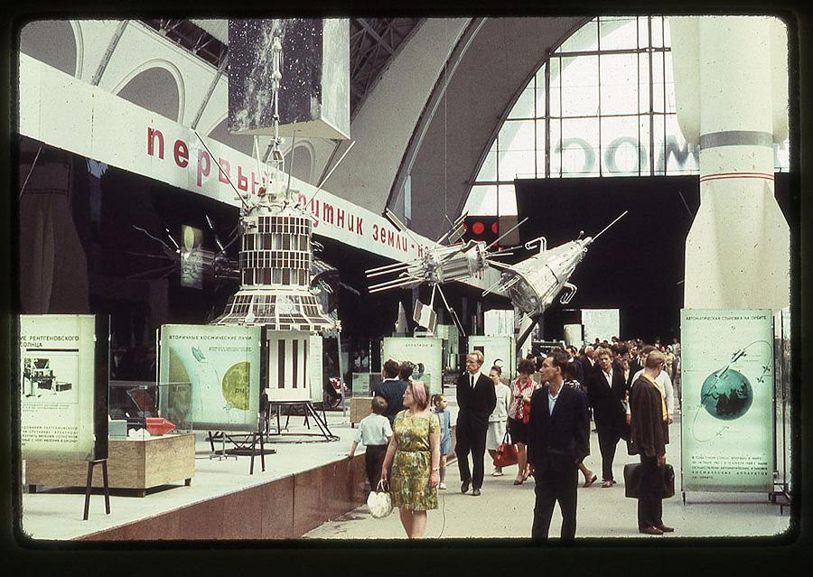 2717 Москва 1969 года в объективе американского фотографа