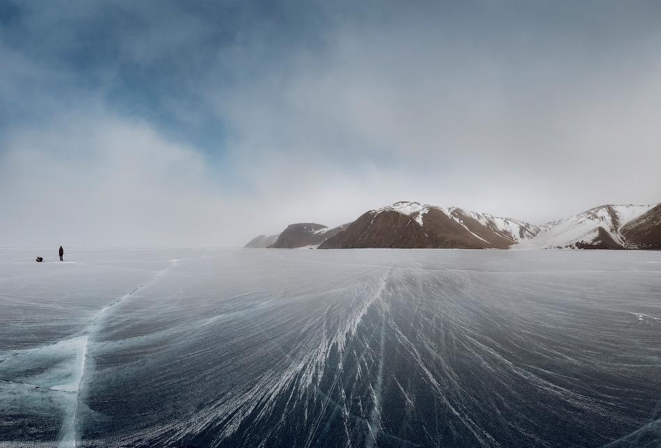 2718 Тонкие струны Байкала или 400 км на коньках