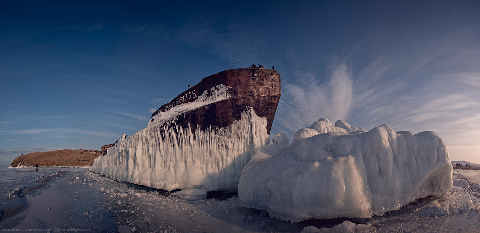 2720 Тонкие струны Байкала или 400 км на коньках (Часть 2)