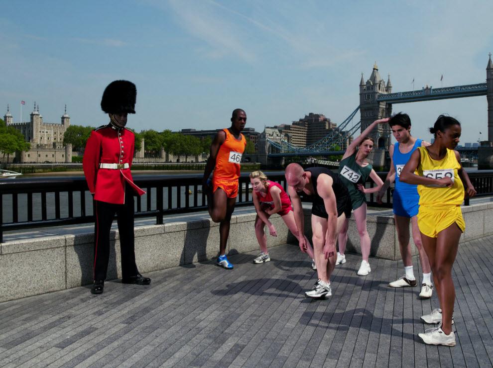 2745 Лондонские гвардейцы готовятся к Олимпиаде