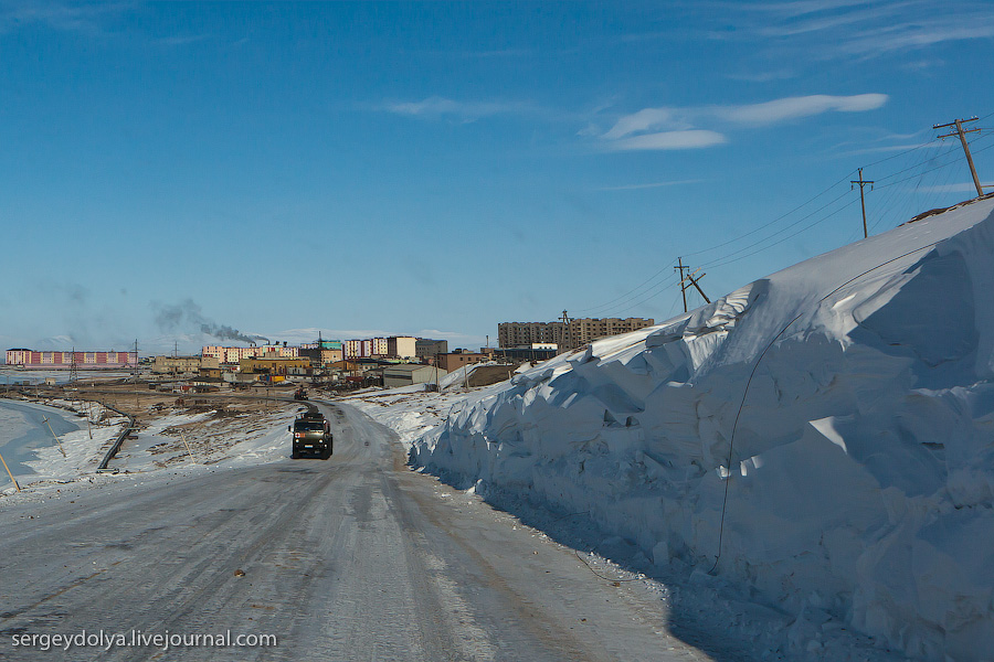 2813 Певек   самый северный город России