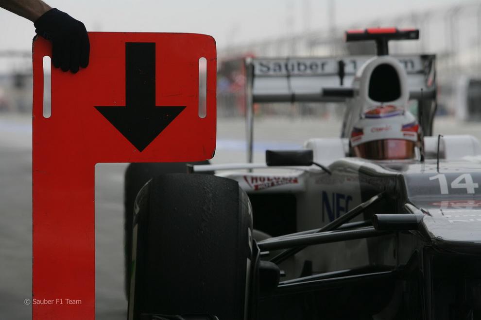 2837 За кадром Гран При Бахрейна 2012