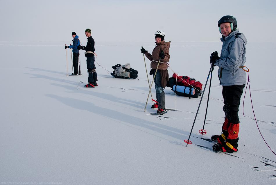 2917 Тонкие струны Байкала или 400 км на коньках