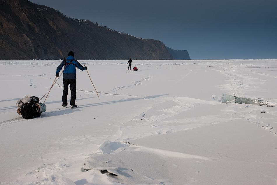 3013 Тонкие струны Байкала или 400 км на коньках