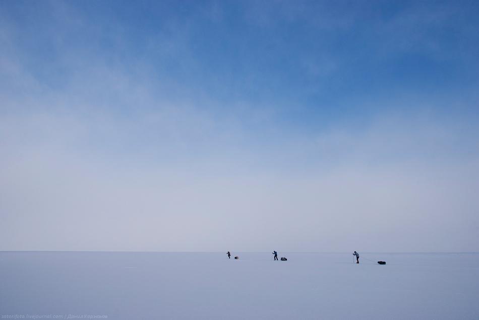 3132 Тонкие струны Байкала или 400 км на коньках