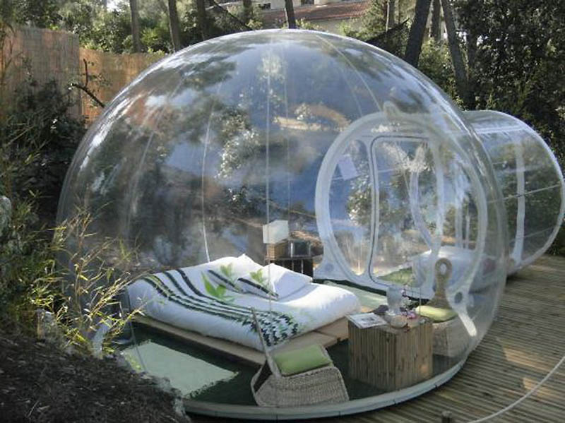3170 Отель Bubble во Франции