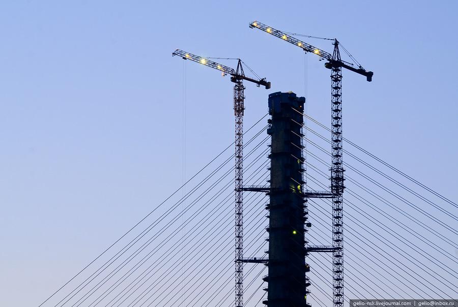 3205 Мост на остров Русский во Владивостоке (Апрель 2012)