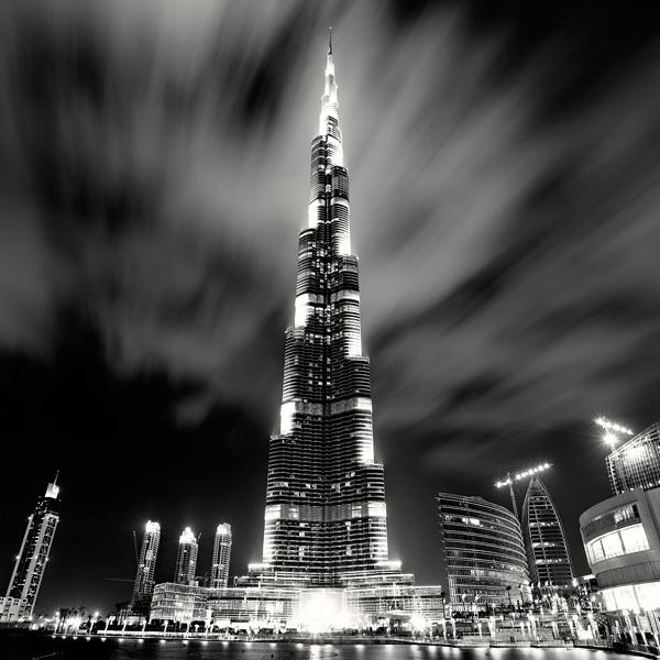 326 Черно белая красота больших городов
