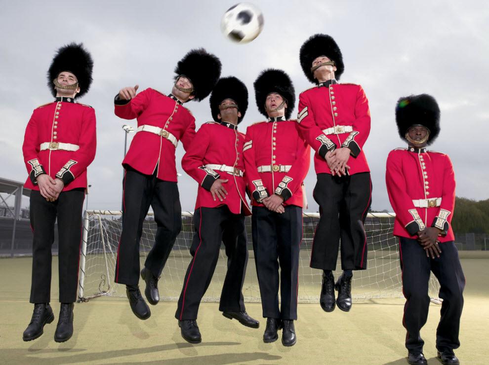 3263 Лондонские гвардейцы готовятся к Олимпиаде