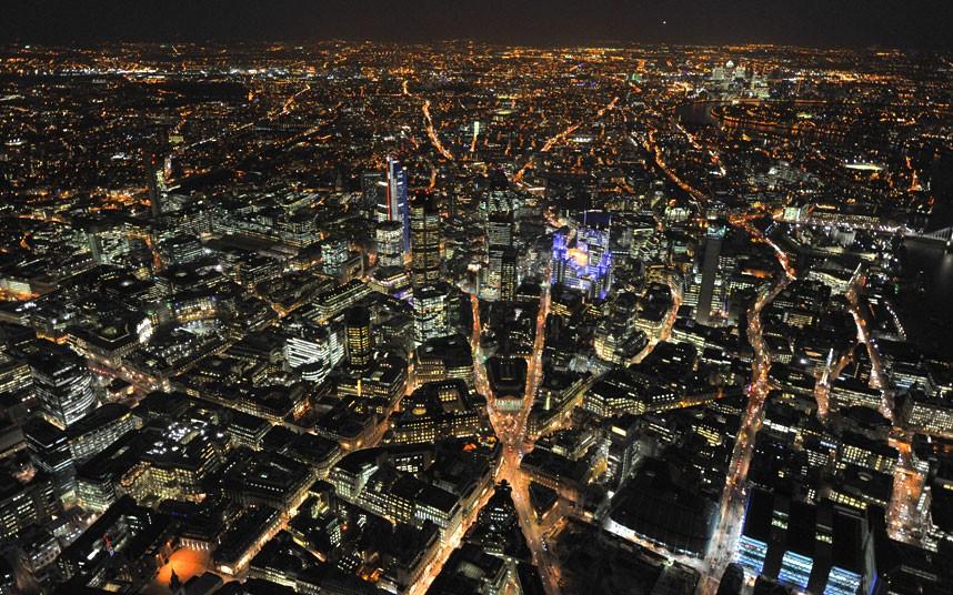 349 Британские города с воздуха