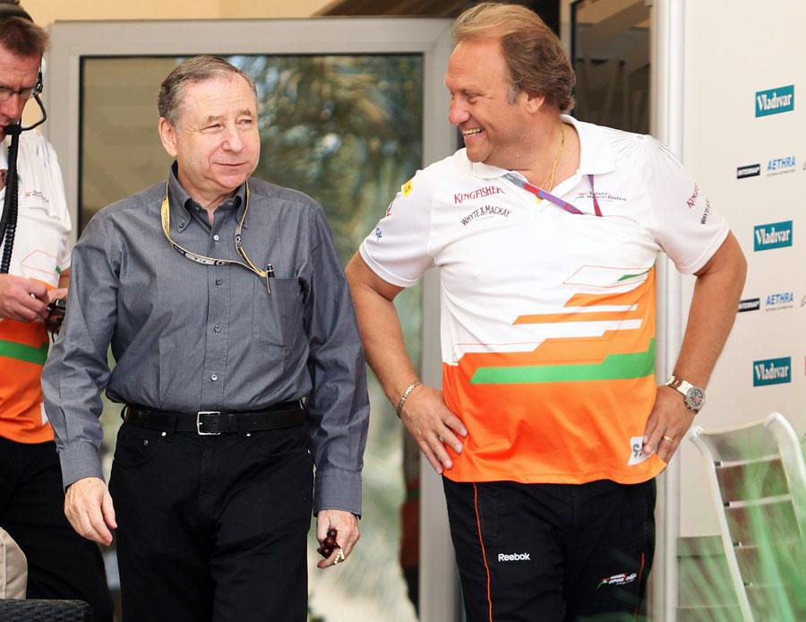 3921 За кадром Гран При Бахрейна 2012