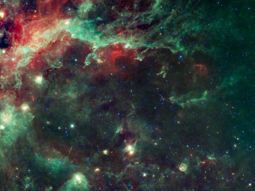 4124 Космос в тепловых лучах