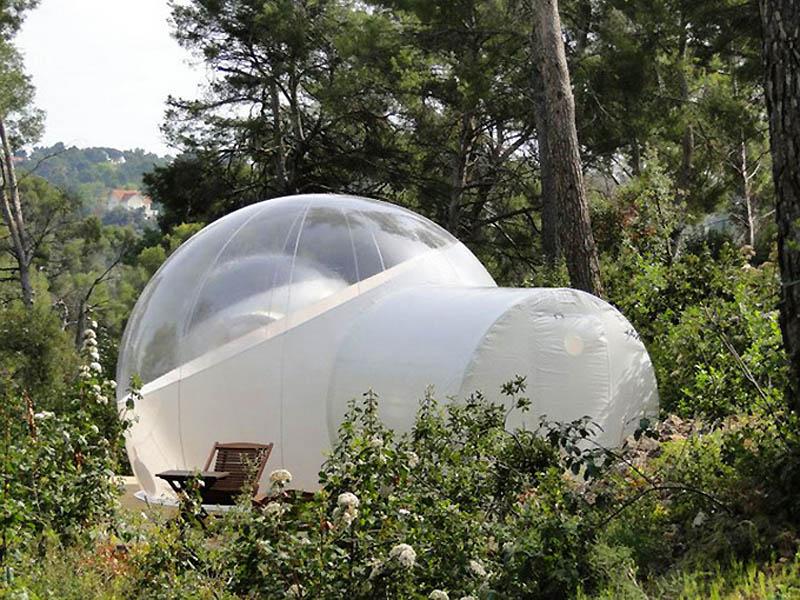 4140 Отель Bubble во Франции