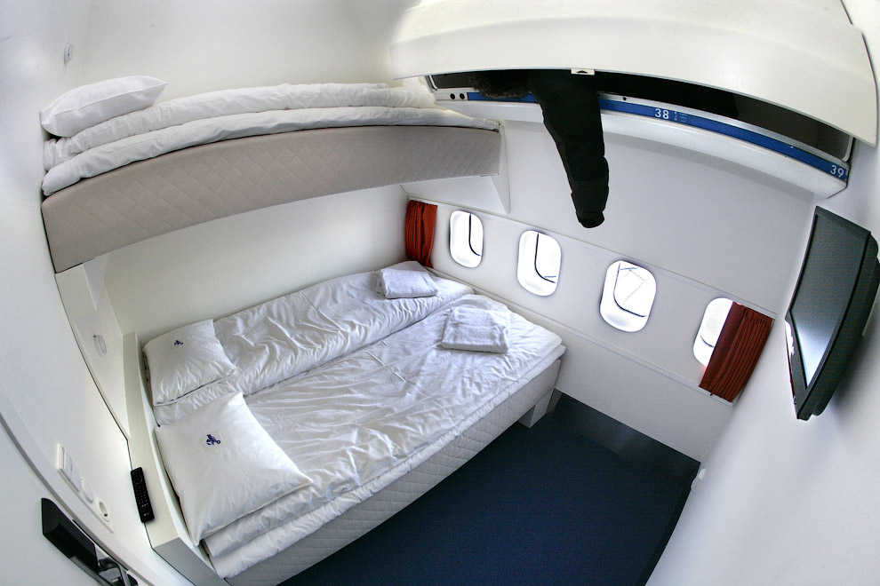4148 Отель в самолете