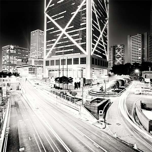 416 Черно белая красота больших городов