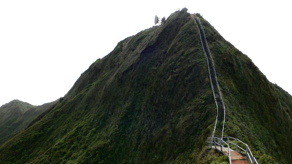 4161 Лестница Хайку на Гаваях