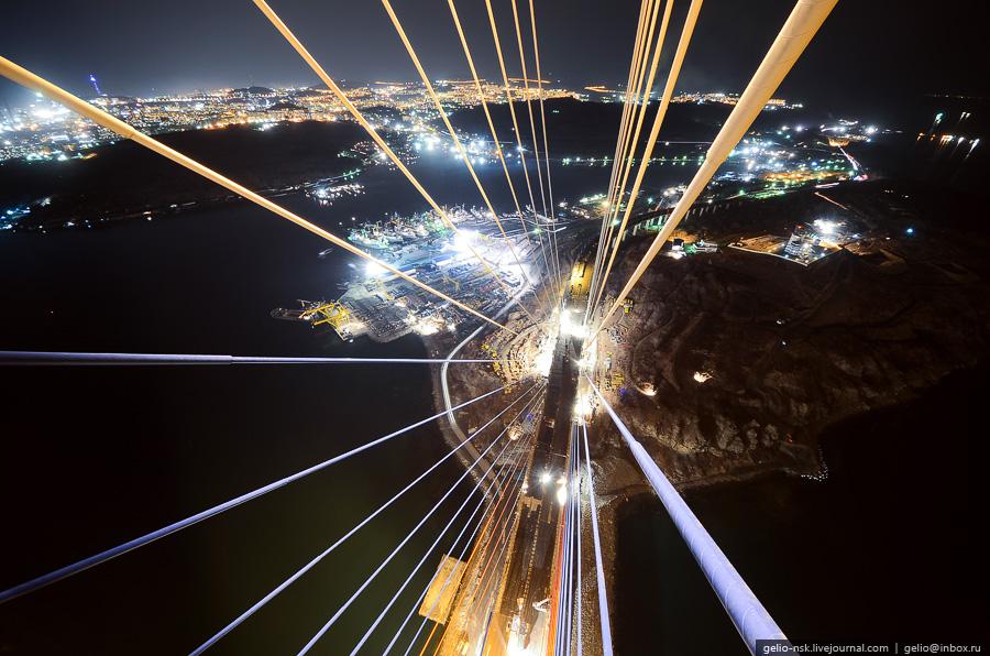 4170 Мост на остров Русский во Владивостоке (Апрель 2012)