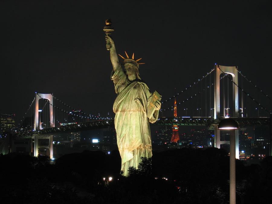 4178 Мировые достопримечательности ночью