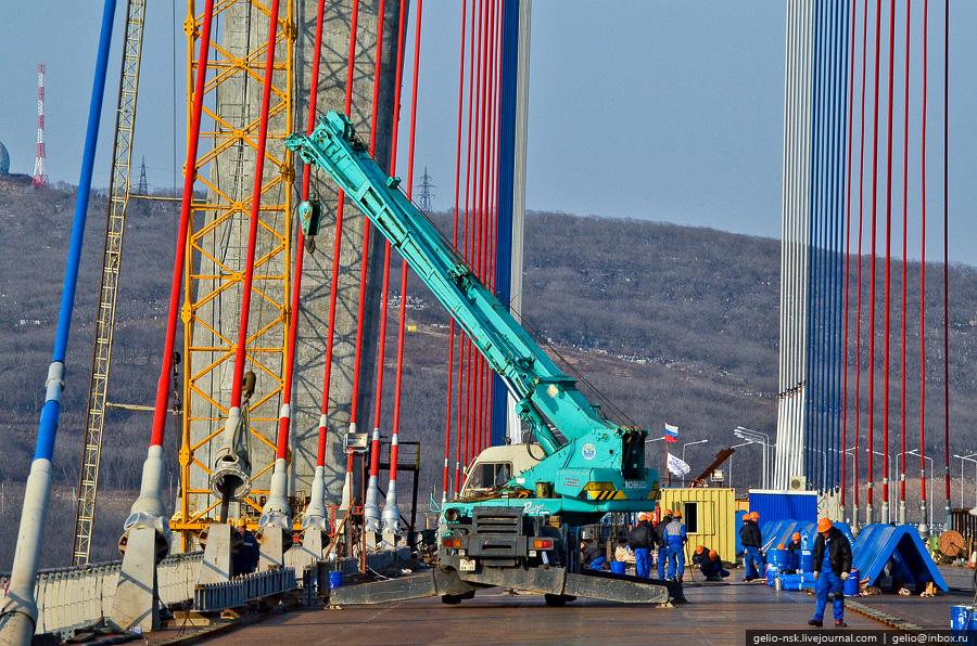 4218 Мост на остров Русский во Владивостоке (Апрель 2012)