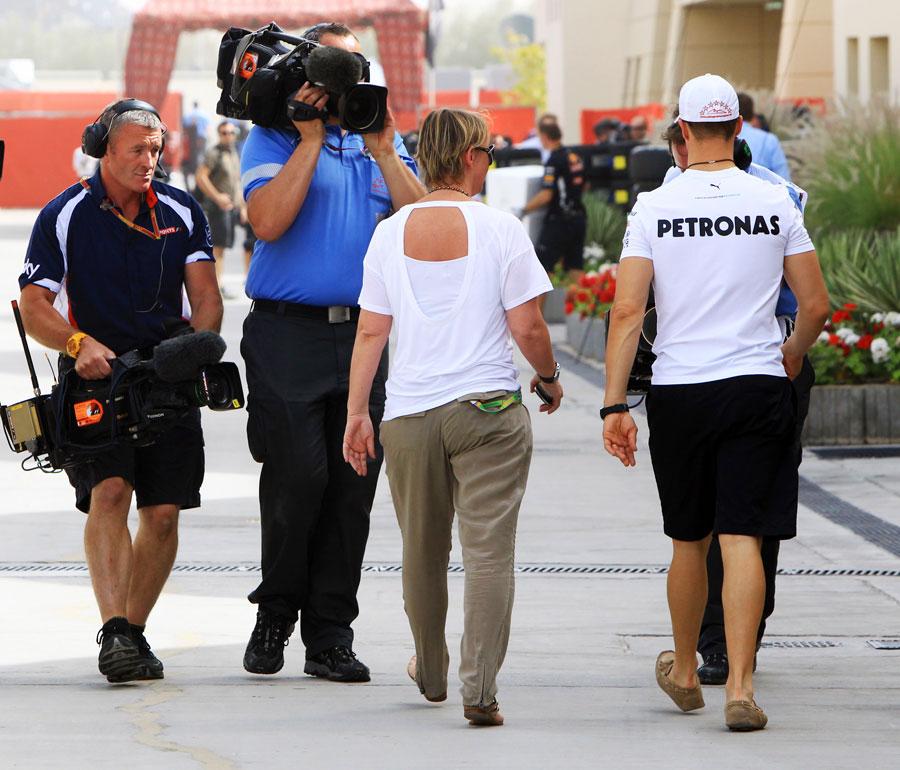 4219 За кадром Гран При Бахрейна 2012
