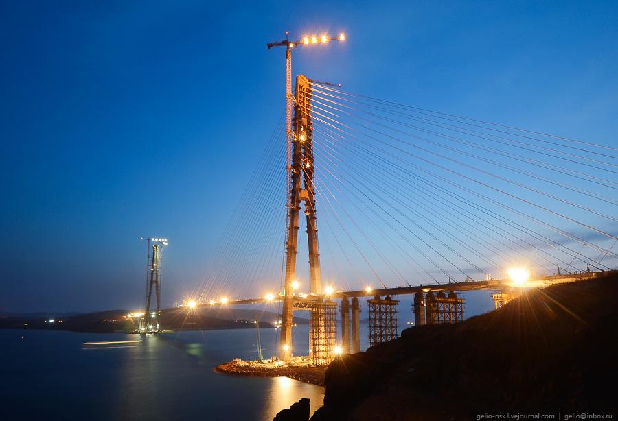 4516 Мост на остров Русский во Владивостоке (Апрель 2012)