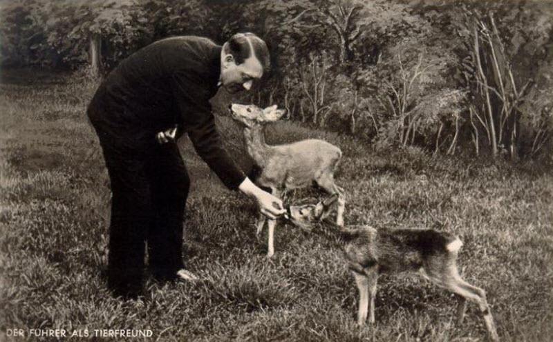 473 Жизнь Адольфа Гитлера в фотографиях