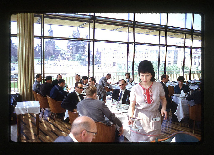 493 Москва 1969 года в объективе американского фотографа
