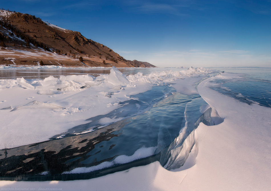 497 Тонкие струны Байкала или 400 км на коньках