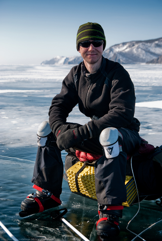 502 Тонкие струны Байкала или 400 км на коньках