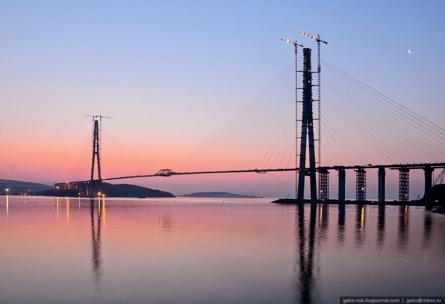507 Мост на остров Русский во Владивостоке (Апрель 2012)