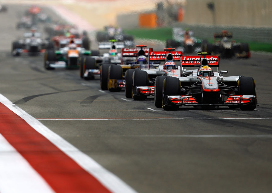 508 За кадром Гран При Бахрейна 2012
