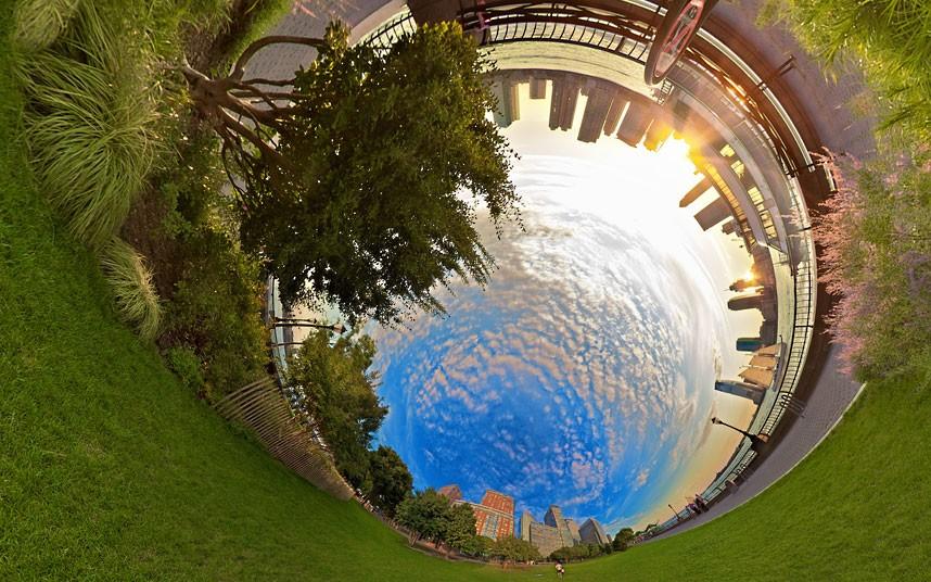 5132 Новый взгляд настарые места: сюрреалистические города