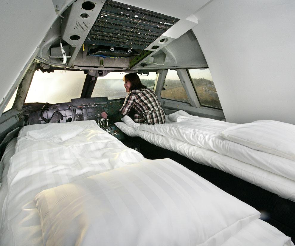 5133 Отель в самолете