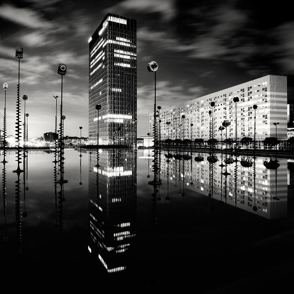 515 Черно белая красота больших городов