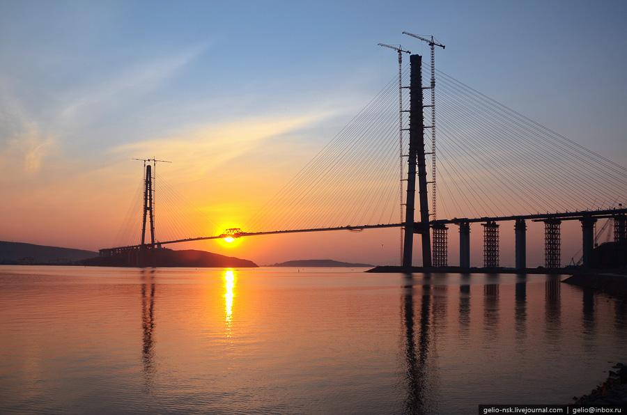5154 Мост на остров Русский во Владивостоке (Апрель 2012)