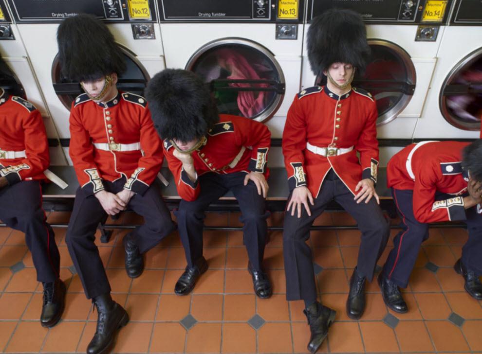 5192 Лондонские гвардейцы готовятся к Олимпиаде