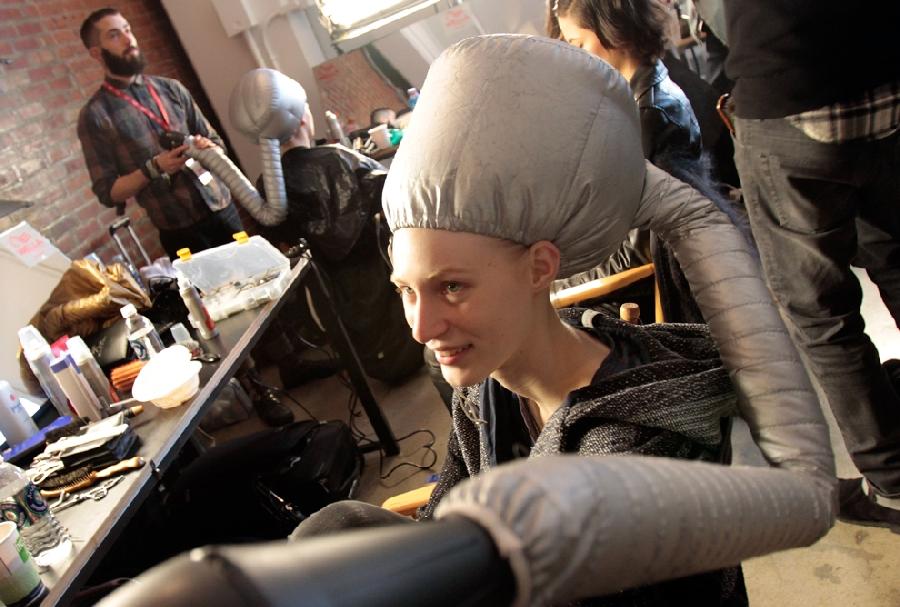 523 За кулисами нью йоркской недели моды сезона осень 2012