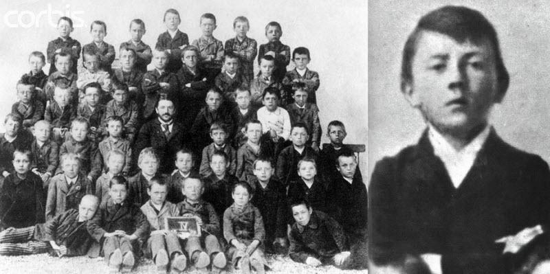 527 Жизнь Адольфа Гитлера в фотографиях