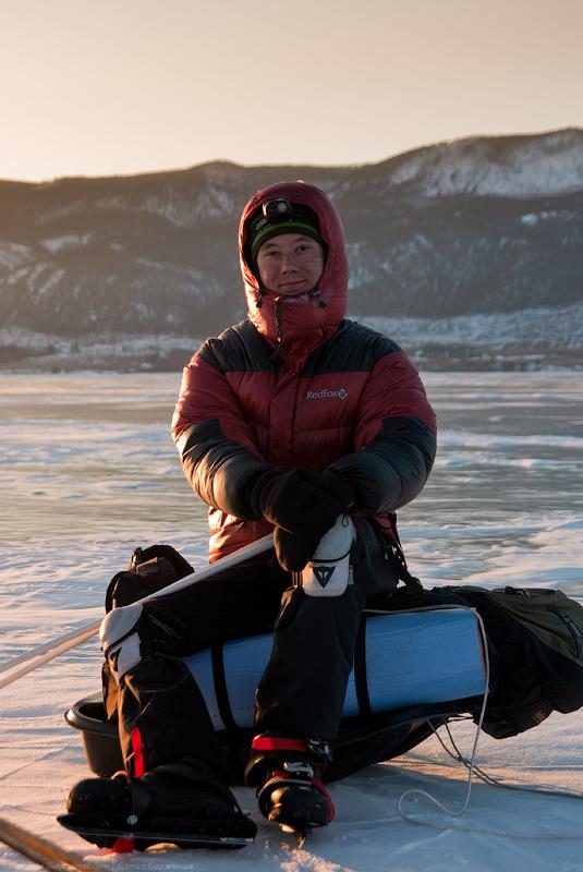 5310 Тонкие струны Байкала или 400 км на коньках