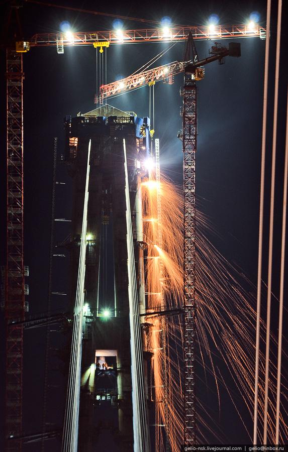5315 Мост на остров Русский во Владивостоке (Апрель 2012)