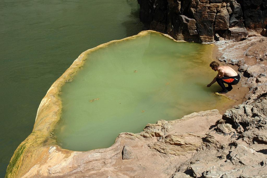 538 Бассейн тыква с мышьяком в Гранд Каньоне