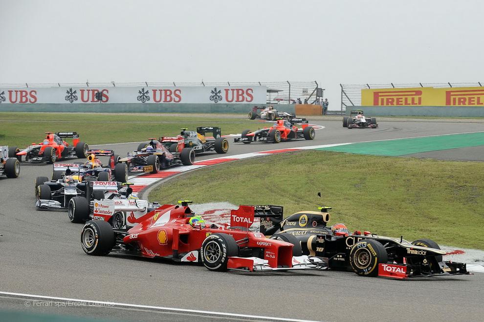За кулисами Гран-При Китая2012