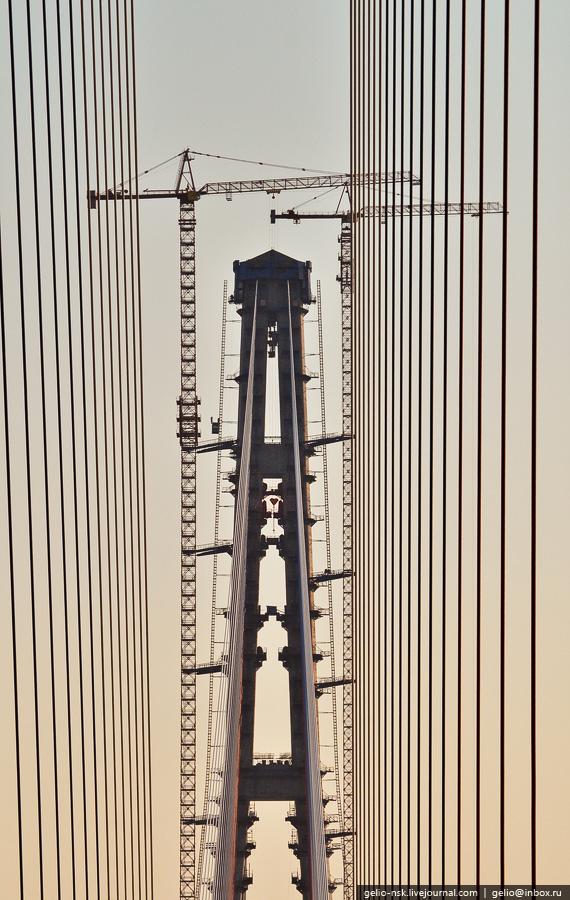 5513 Мост на остров Русский во Владивостоке (Апрель 2012)